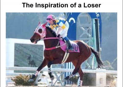 The Inspiration of a Loser – Turf Talk: 12 September 2016