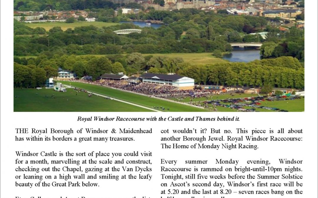 The Summers of Windsor – Turf Talk: 15 May 2017