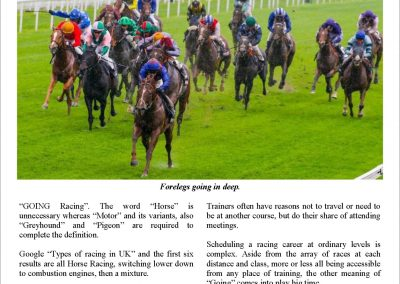 There is going and there is going – Turf Talk: 5 June 2017