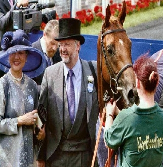 Two in One! A Royal Ascot winner at York.