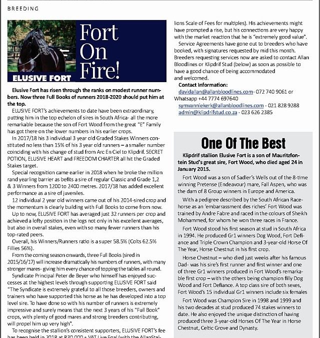 Fort On Fire! – Sporting Post Digest: 8 August 2018