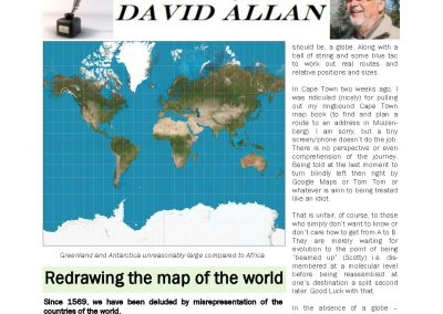 Redrawing the map of the world – Turf Talk: 29 January 2019