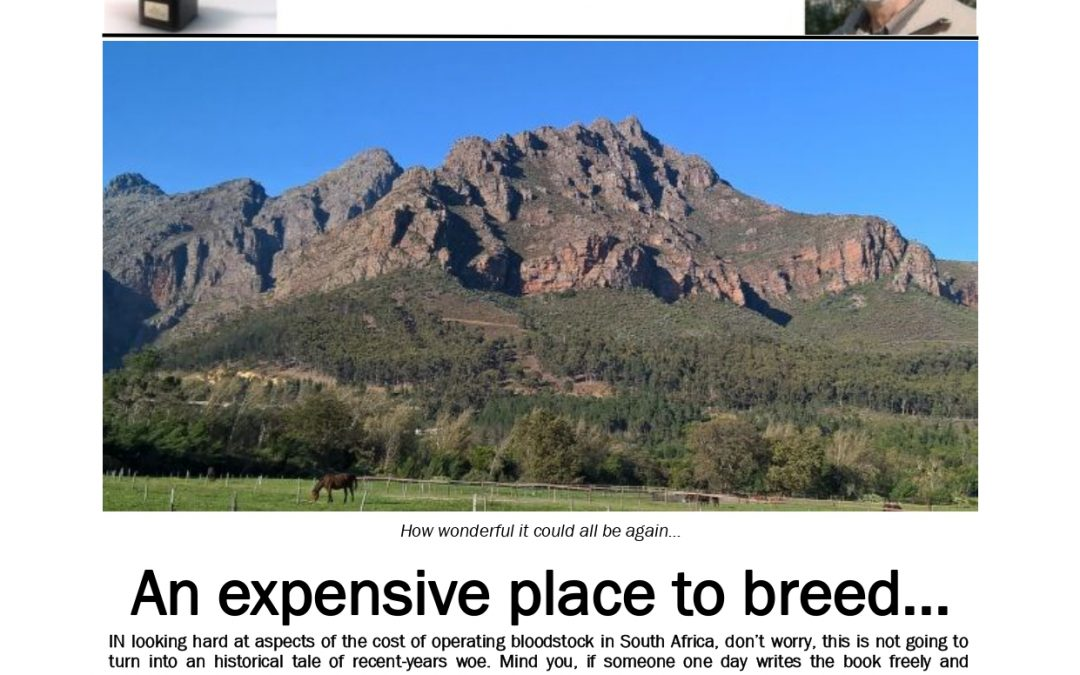 An expensive place to breed: 3 June 2019