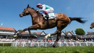 ENABLE (Frankie Dettori) winning at York.