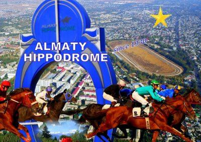 Almaty Hippodrome Ad