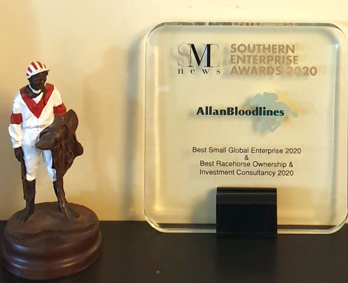 AllanBloodlines SME News Trophy with statue