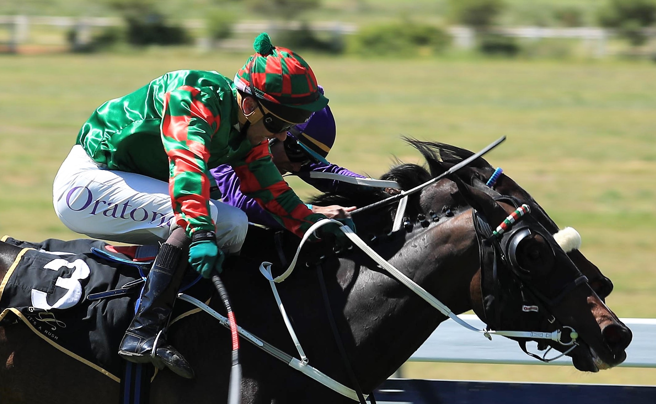 Adorada wins, holding on after making all under MJ Byleveld