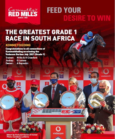 s THE GREATEST GRADE 1 RACE IN SOUTH AFRICA